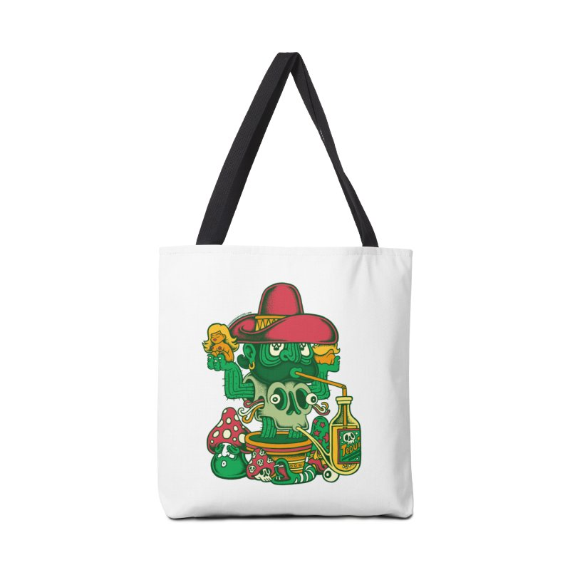 Mr. Cactus Accessories Bag by cphposter's Artist Shop