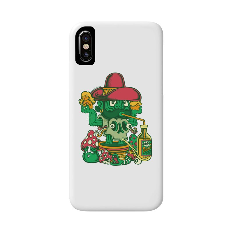 Mr. Cactus Accessories Phone Case by cphposter's Artist Shop
