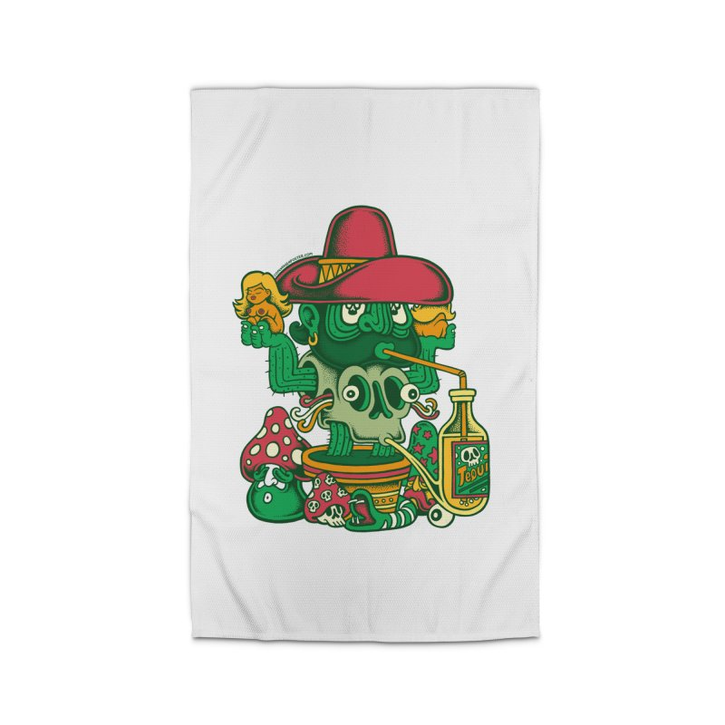 Mr. Cactus Home Rug by cphposter's Artist Shop