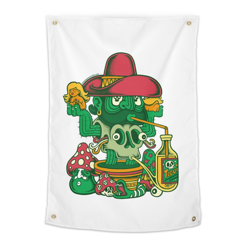 Mr. Cactus Home Tapestry by cphposter's Artist Shop