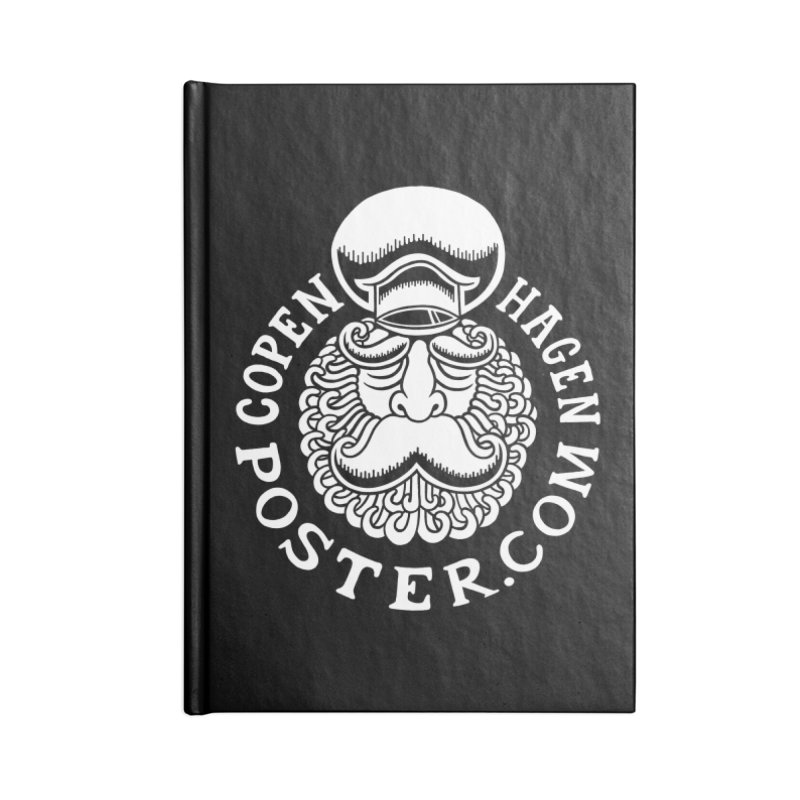 Copenhagen Poster Accessories Notebook by cphposter's Artist Shop