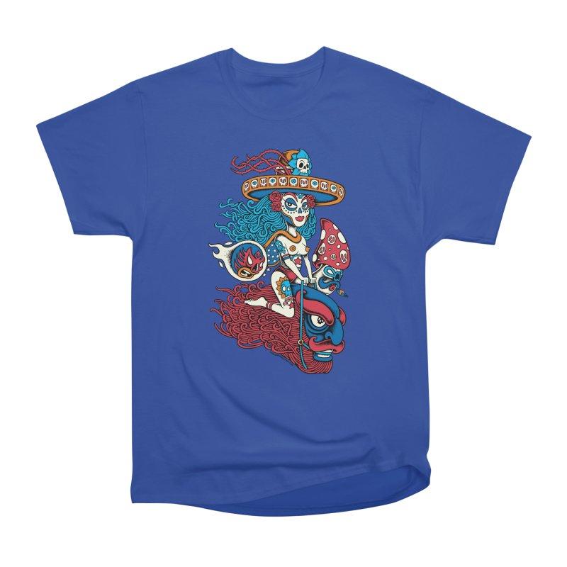 Senora de la Muerte II Women's Classic Unisex T-Shirt by cphposter's Artist Shop