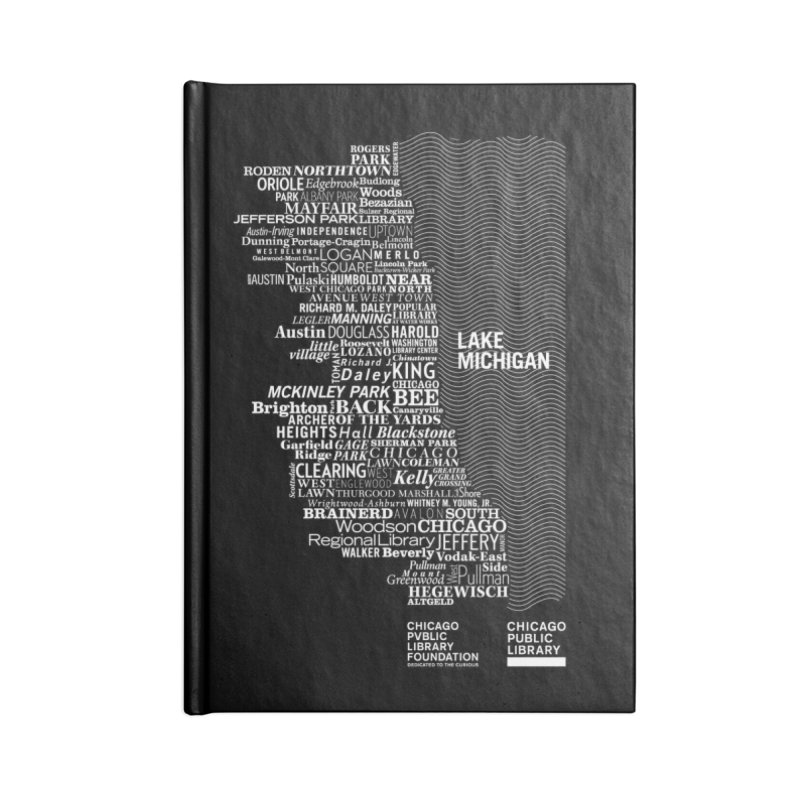 Chicago Public Library Map Accessories Notebook by cplfoundation's Artist Shop