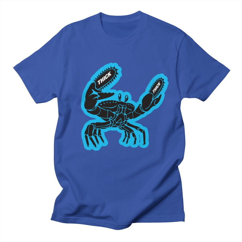 Crab On Acid Men's T-Shirt by Crab Saw Apparel