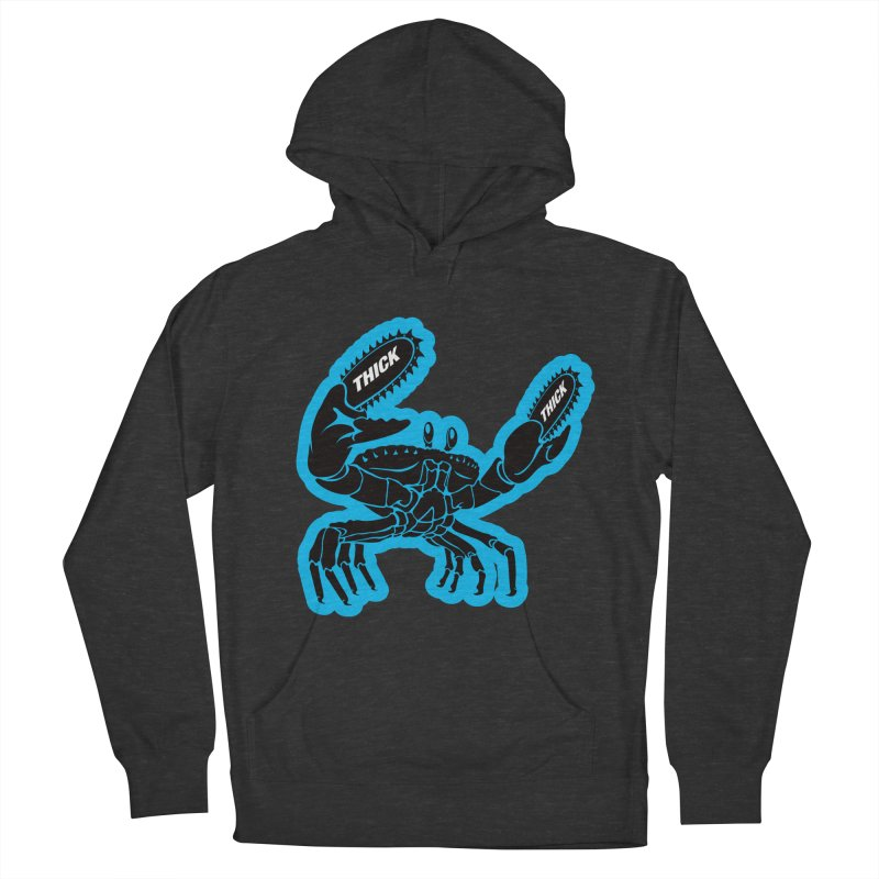 Crab On Acid Women's French Terry Pullover Hoody by Crab Saw Apparel