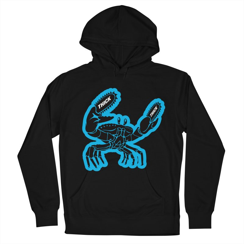 Crab On Acid Men's French Terry Pullover Hoody by Crab Saw Apparel