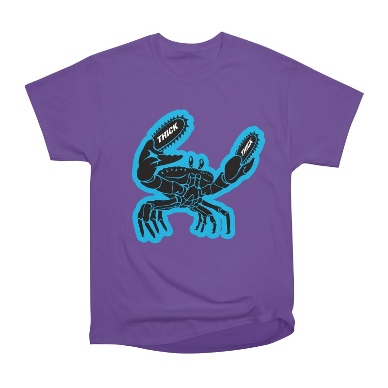 Crab On Acid Men's Heavyweight T-Shirt by Crab Saw Apparel