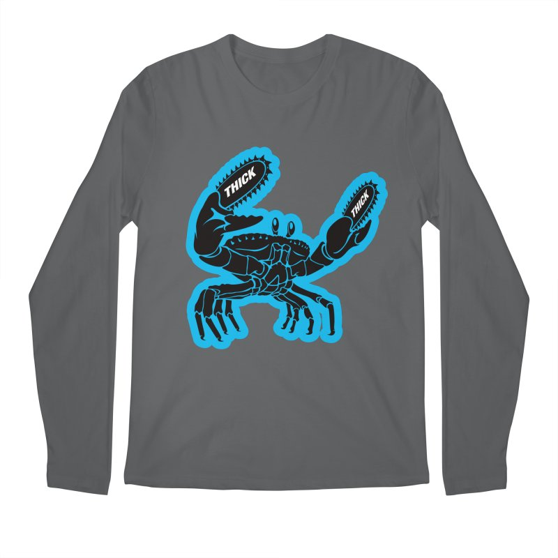 Crab On Acid Men's Longsleeve T-Shirt by Crab Saw Apparel