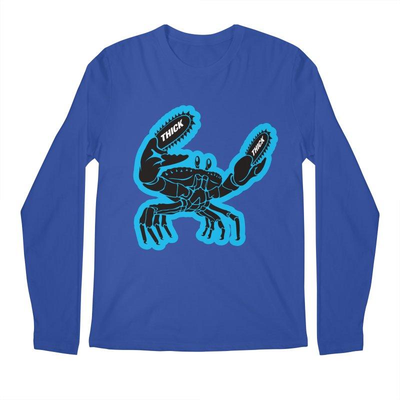 Crab On Acid Men's Regular Longsleeve T-Shirt by Crab Saw Apparel