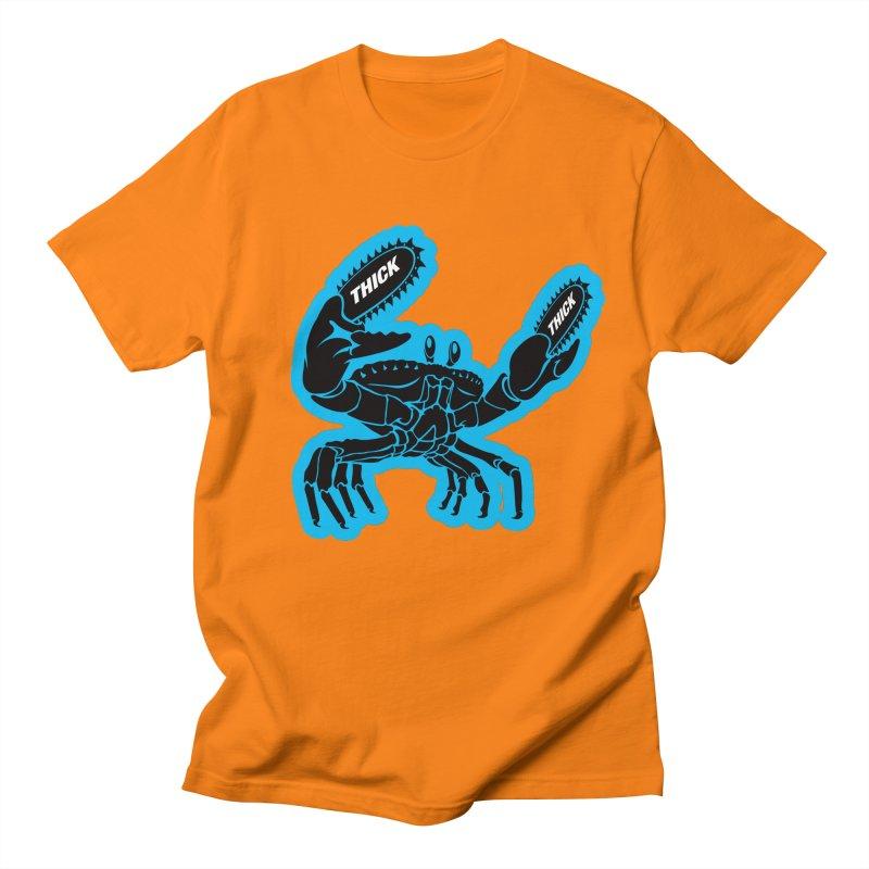 Crab On Acid Women's Regular Unisex T-Shirt by Crab Saw Apparel