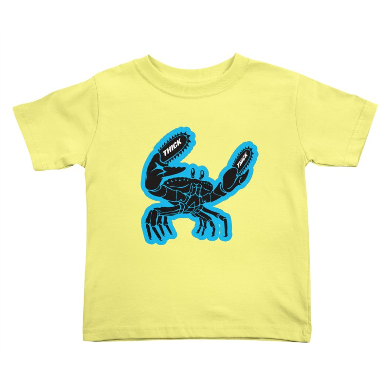 Crab On Acid Kids Toddler T-Shirt by Crab Saw Apparel