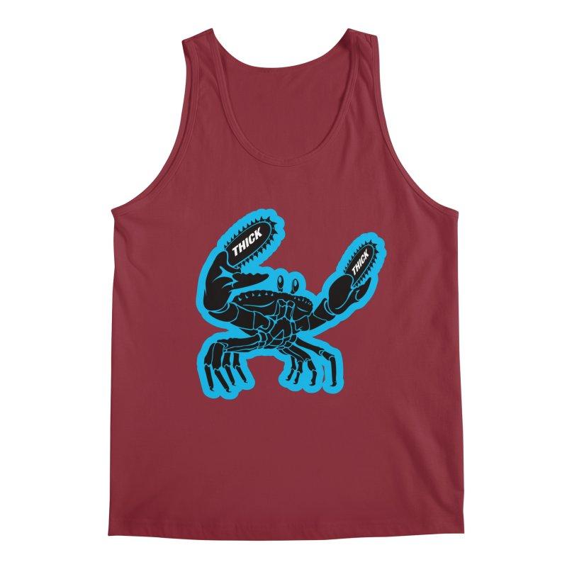 Crab On Acid Men's Tank by Crab Saw Apparel