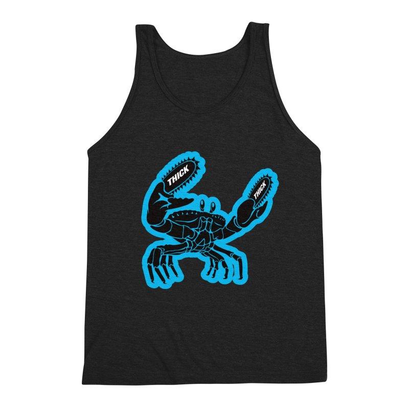 Crab On Acid Men's Triblend Tank by Crab Saw Apparel