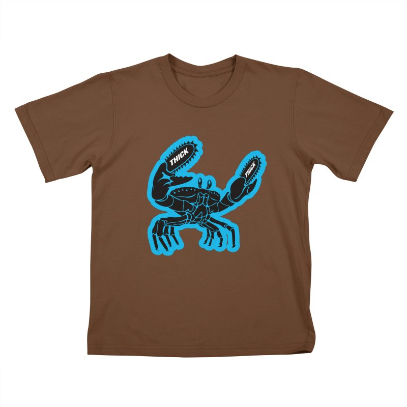 Crab On Acid Kids T-Shirt by Crab Saw Apparel