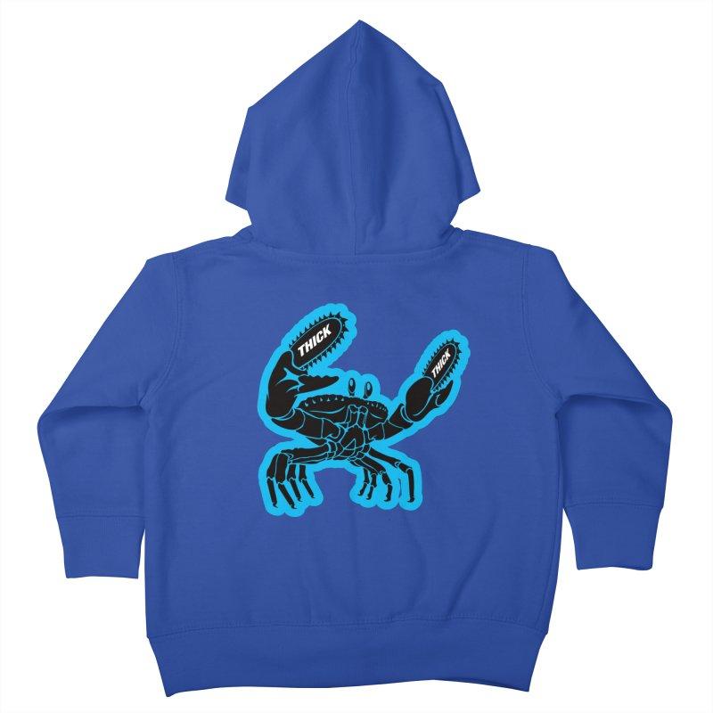 Crab On Acid Kids Toddler Zip-Up Hoody by Crab Saw Apparel