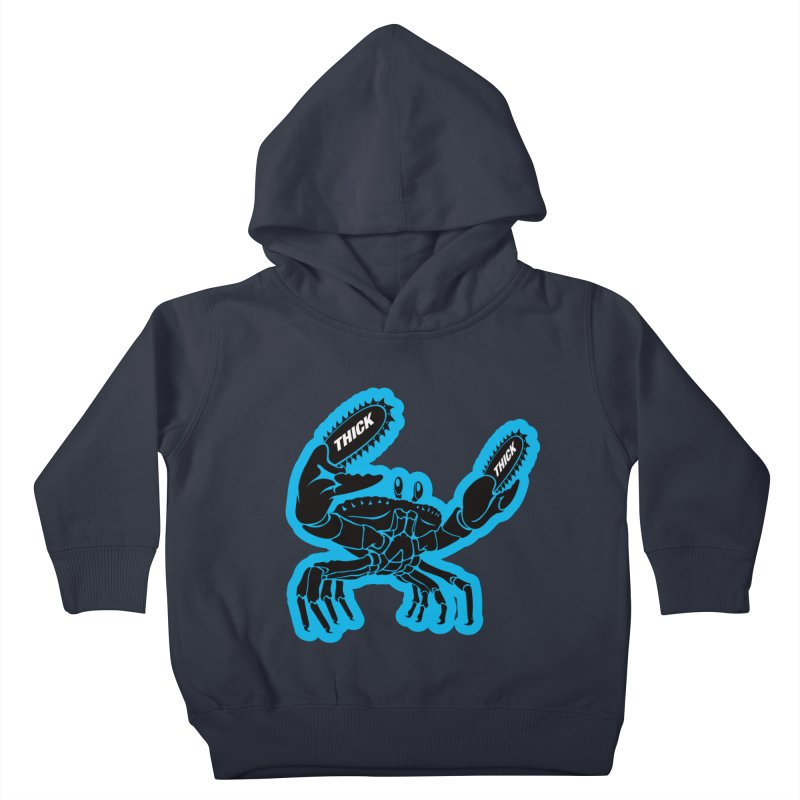 Crab On Acid Kids Toddler Pullover Hoody by Crab Saw Apparel