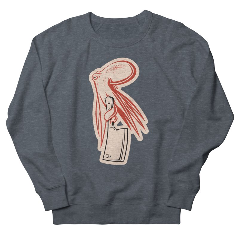 Chop Suey Women's French Terry Sweatshirt by Crab Saw Apparel
