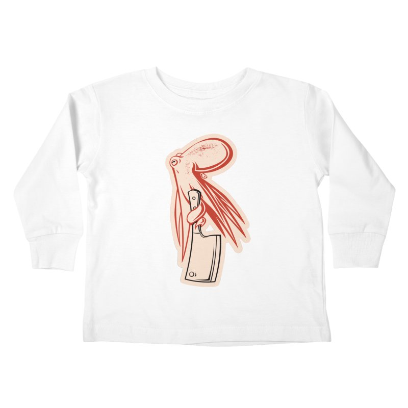 Chop Suey Kids Toddler Longsleeve T-Shirt by Crab Saw Apparel