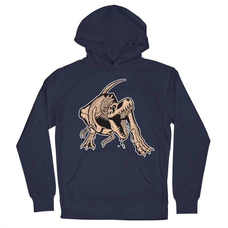 T-rex Men's Pullover Hoody by Crab Saw Apparel