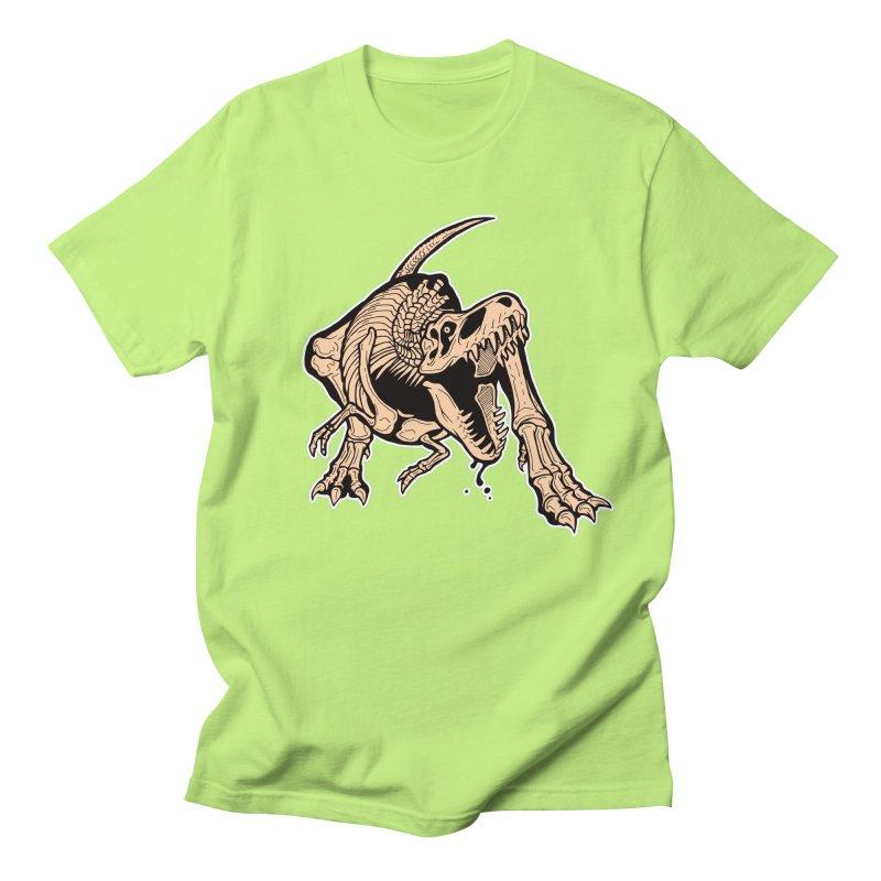 T-rex Women's Regular Unisex T-Shirt by Crab Saw Apparel
