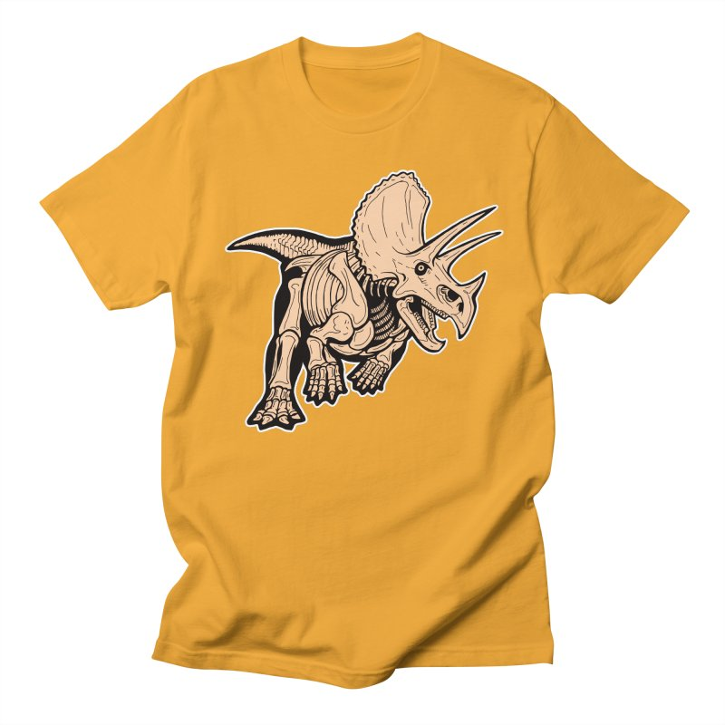 Triceratops Women's Regular Unisex T-Shirt by Crab Saw Apparel