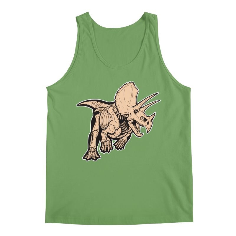 Triceratops Men's Tank by Crab Saw Apparel