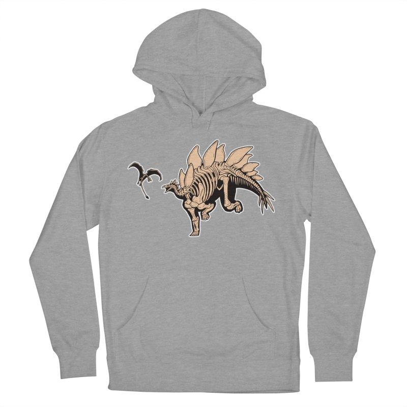 Stegosaurus Women's Pullover Hoody by Crab Saw Apparel