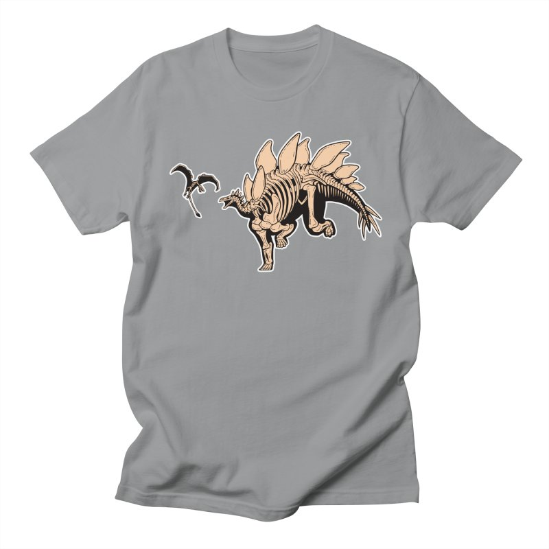 Stegosaurus Women's Regular Unisex T-Shirt by Crab Saw Apparel