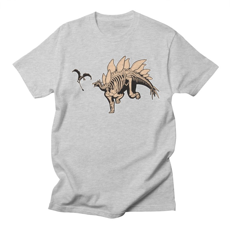 Stegosaurus Women's Regular Unisex T-Shirt by Crab Saw Apparel