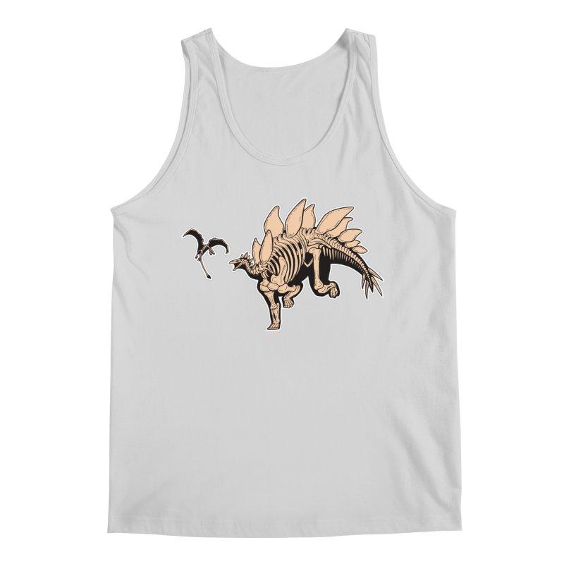 Stegosaurus Men's Regular Tank by Crab Saw Apparel