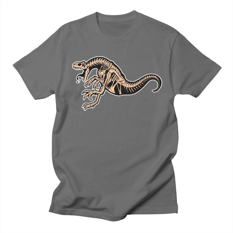 Allosaurus Men's T-Shirt by Crab Saw Apparel