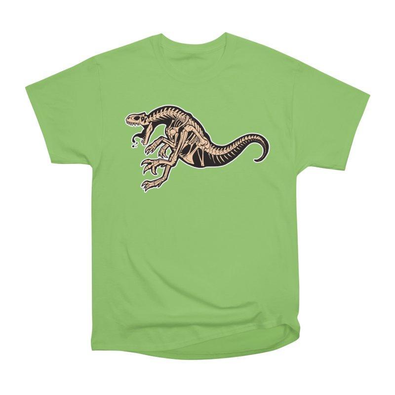 Allosaurus Women's Heavyweight Unisex T-Shirt by Crab Saw Apparel