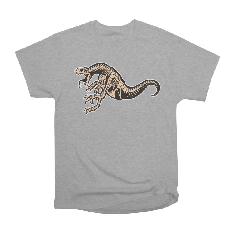 Allosaurus Men's Heavyweight T-Shirt by Crab Saw Apparel