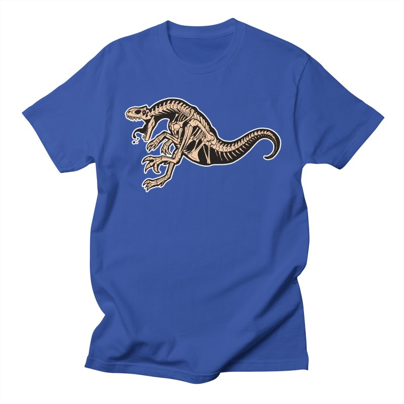 Allosaurus Men's Regular T-Shirt by Crab Saw Apparel