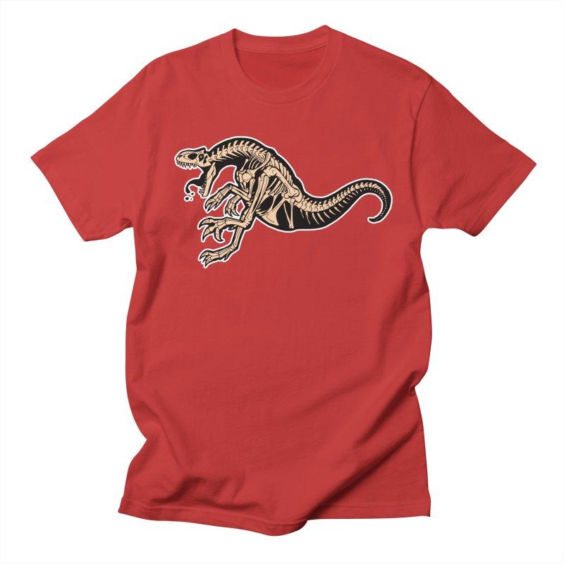 Allosaurus Men's T-Shirt by Crab Saw Apparel