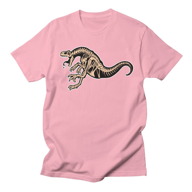Allosaurus Men's Regular T-Shirt by Crab Saw Apparel