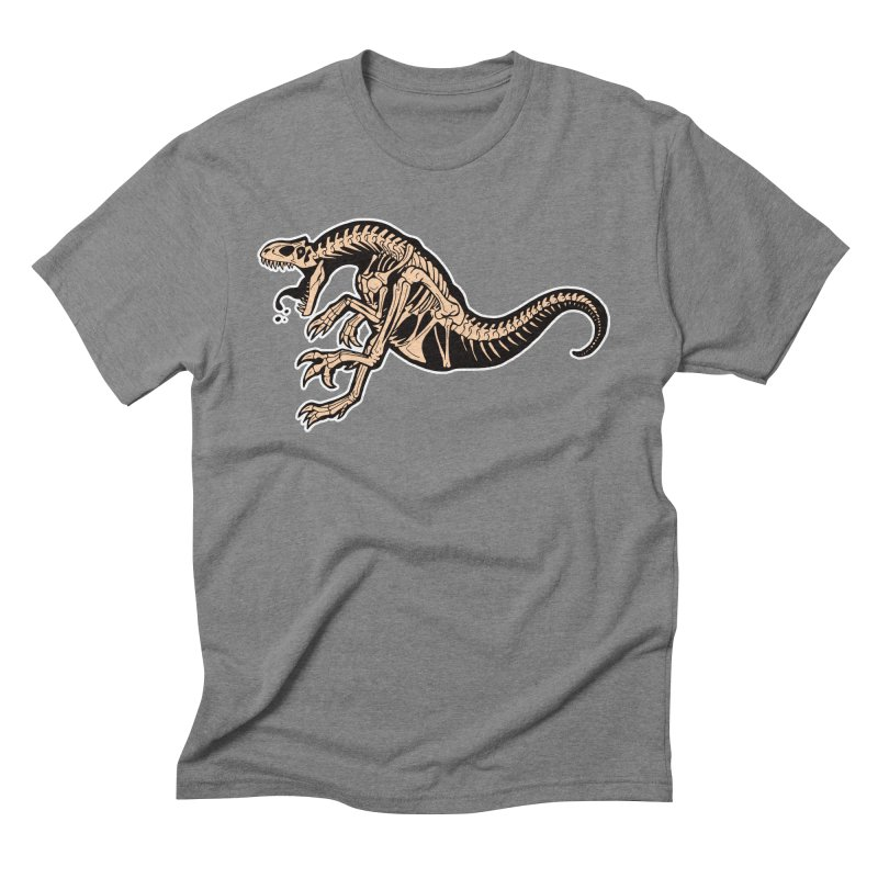 Allosaurus Men's Triblend T-Shirt by Crab Saw Apparel