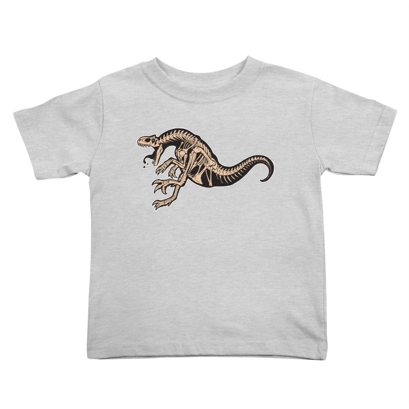 Allosaurus Kids Toddler T-Shirt by Crab Saw Apparel