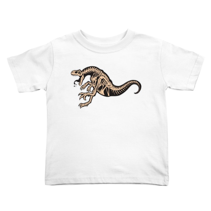 Allosaurus Kids Toddler T-Shirt by Crab Saw Apparel
