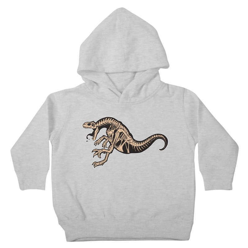 Allosaurus Kids Toddler Pullover Hoody by Crab Saw Apparel