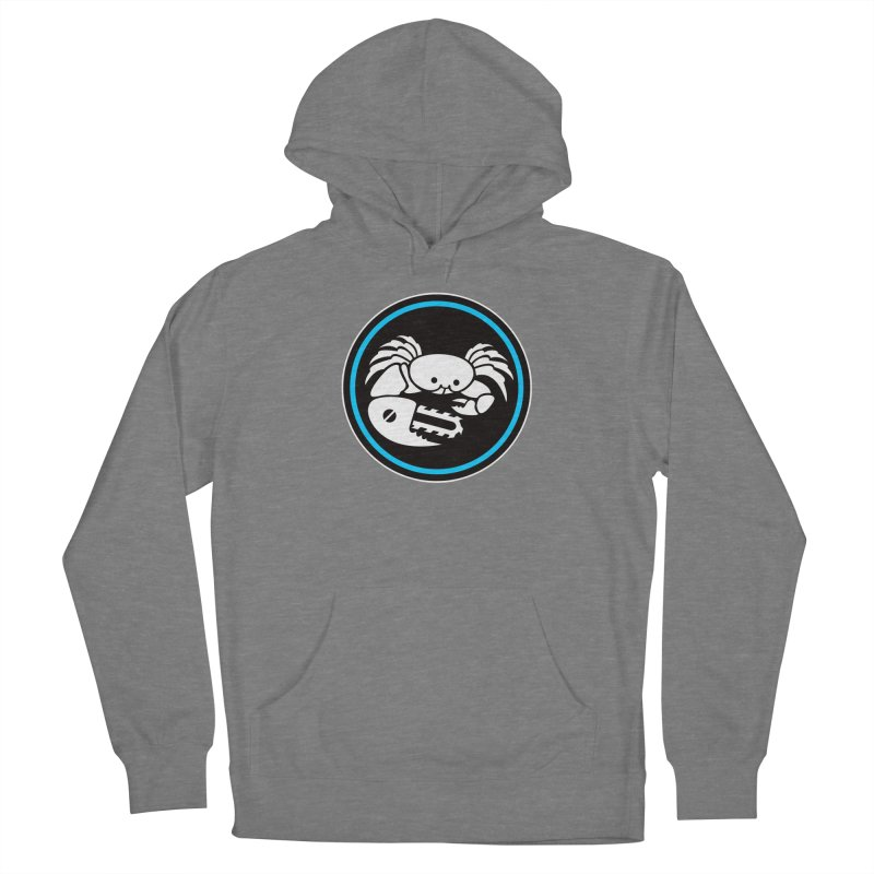 Crab Saw Logo Women's French Terry Pullover Hoody by Crab Saw Apparel