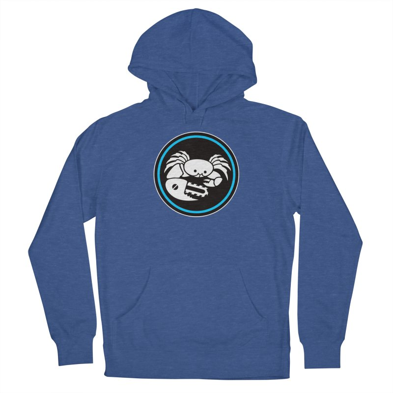 Crab Saw Logo Men's French Terry Pullover Hoody by Crab Saw Apparel