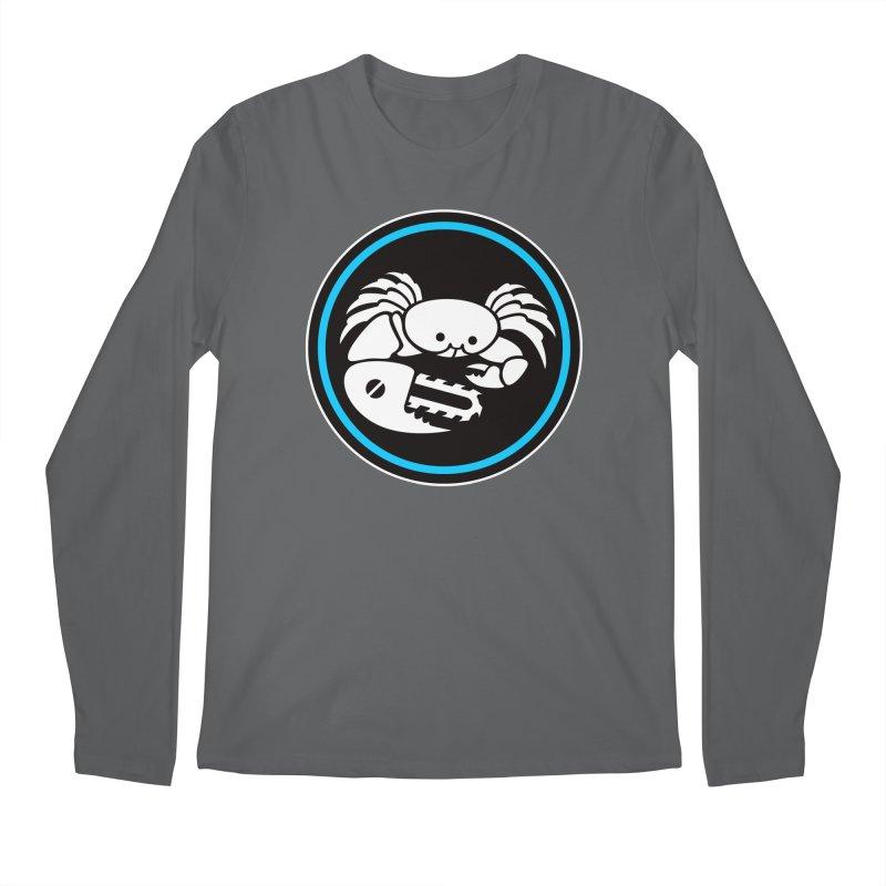 Crab Saw Logo Men's Regular Longsleeve T-Shirt by Crab Saw Apparel