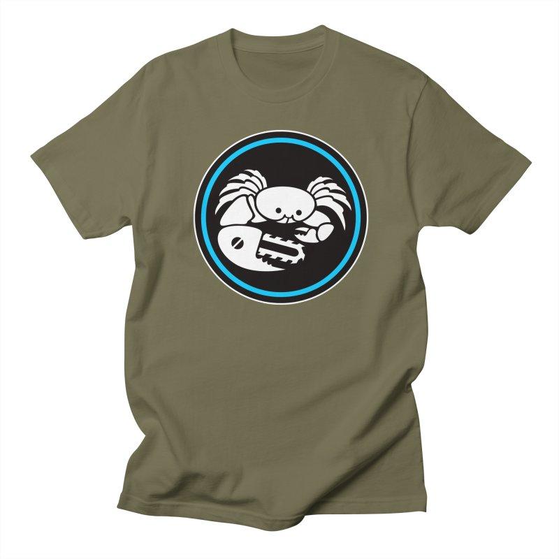 Crab Saw Logo Women's Regular Unisex T-Shirt by Crab Saw Apparel