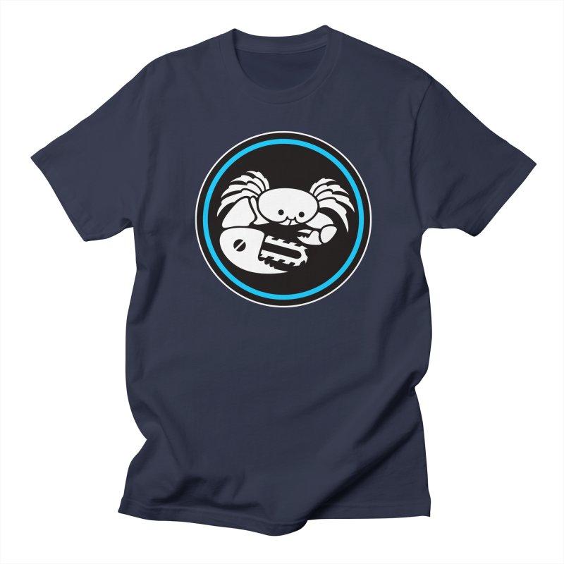 Crab Saw Logo Men's Regular T-Shirt by Crab Saw Apparel