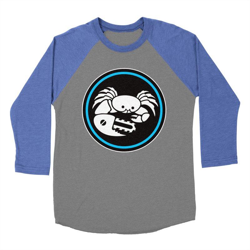 Crab Saw Logo Women's Baseball Triblend Longsleeve T-Shirt by Crab Saw Apparel