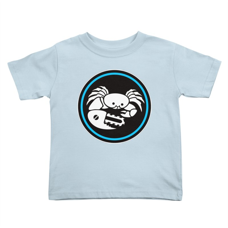 Crab Saw Logo Kids Toddler T-Shirt by Crab Saw Apparel