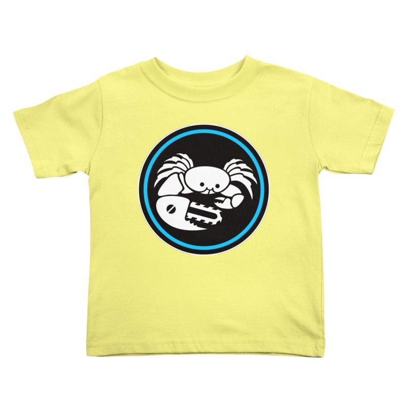 Crab Saw Logo Kids Toddler T-Shirt by Crab Saw Apparel