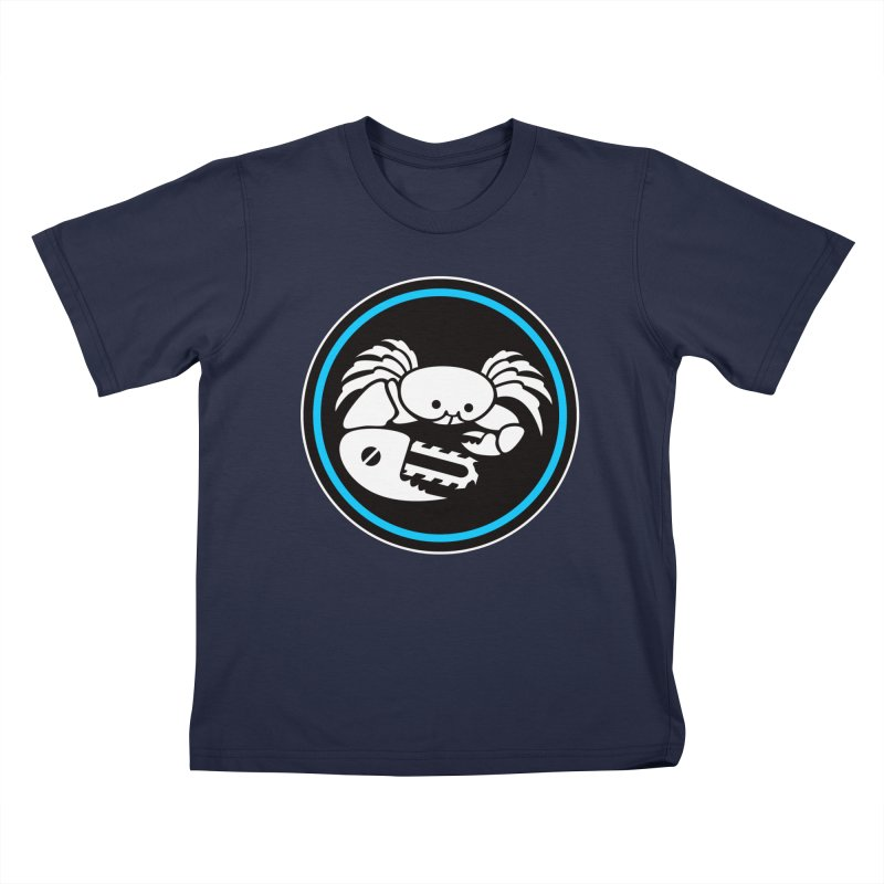 Crab Saw Logo Kids T-Shirt by Crab Saw Apparel