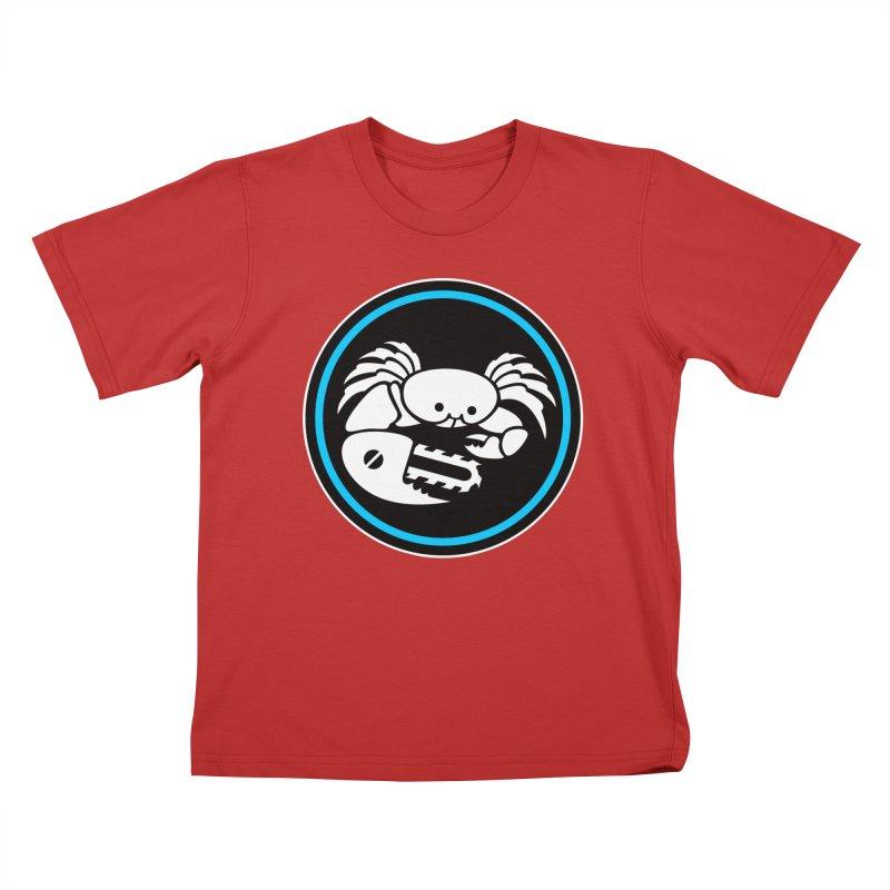 Crab Saw Logo Kids T-Shirt by Crab Saw Apparel